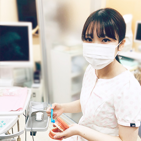 診療室でのマスク着用